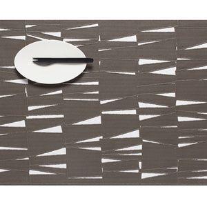 CHILEWICH place mat, new, modern grey, kitchen
